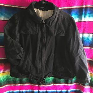 GAP Black bomber jacket